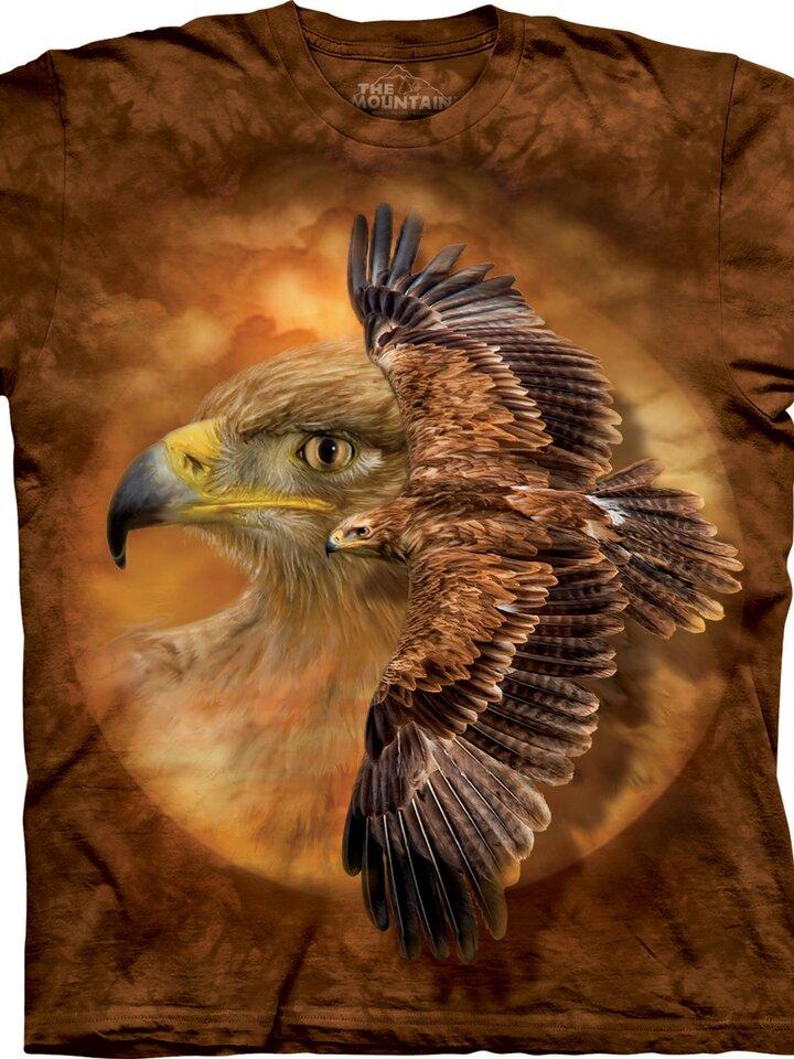 Suchen Sie ein originelles und außergewöhliches Geschenk? überrascht den Beschenkten sicher T-Shirt Sehkraft der Adler