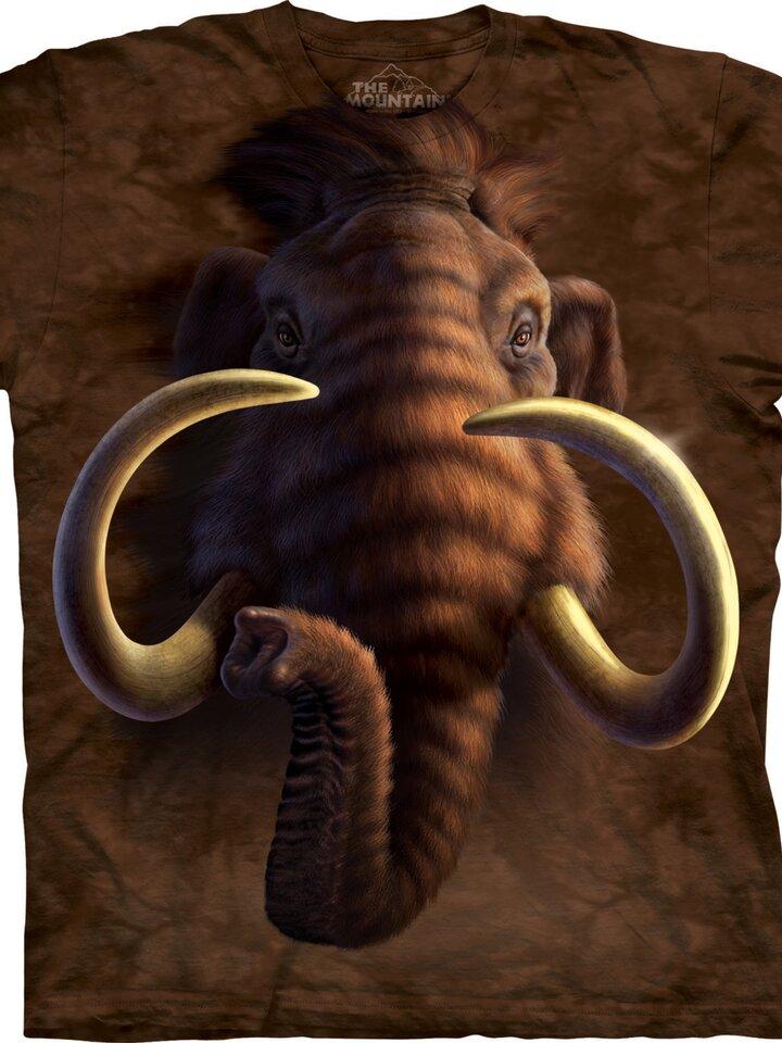 Ausverkauf T-Shirt Mammut Kopf