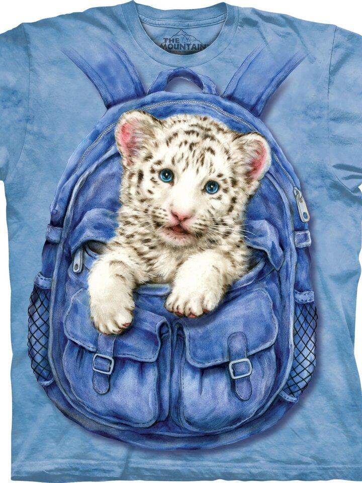 Foto Backpack White Tiger Adult