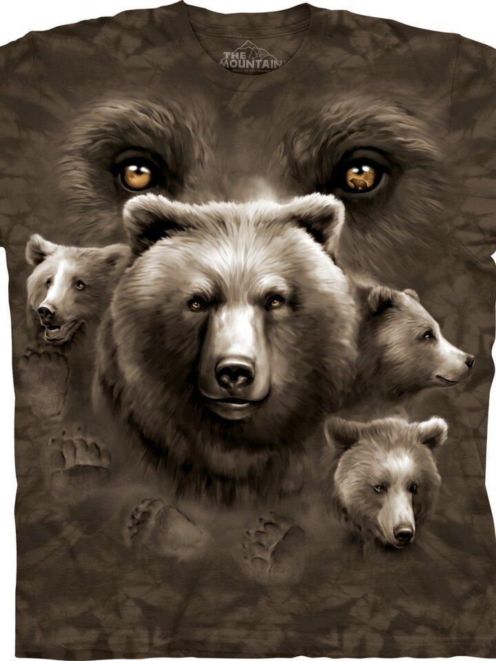 Rabatt T-Shirt Bärenaugen