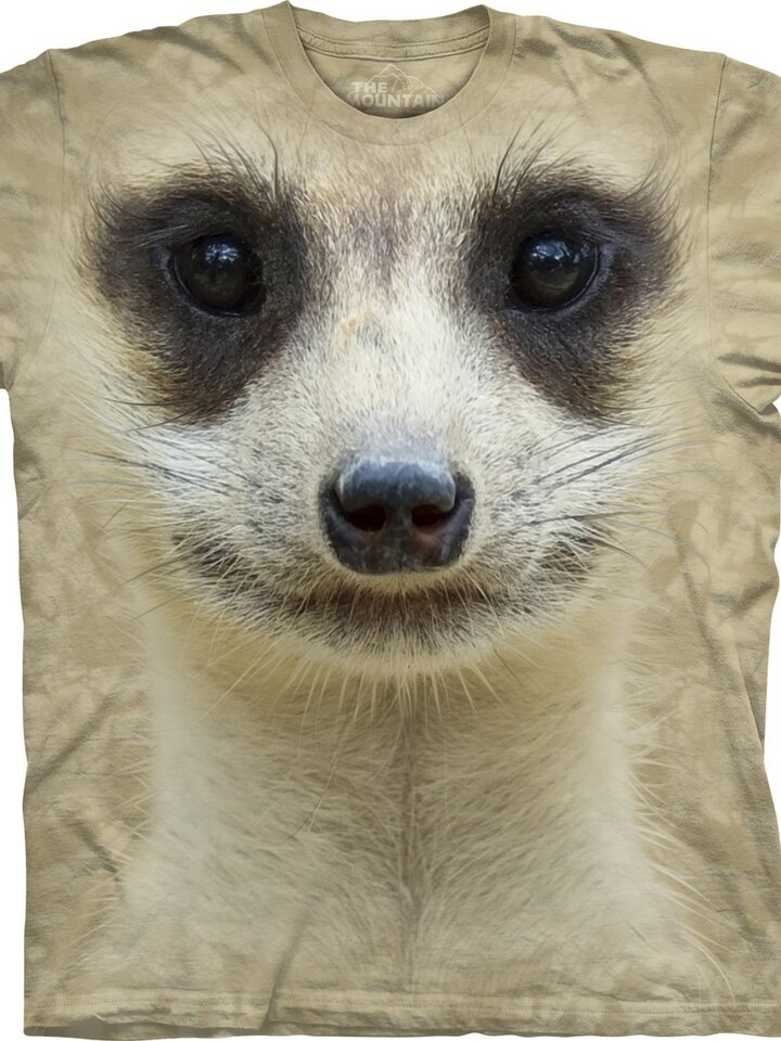 Ajándék tipp Szurikáta arc póló