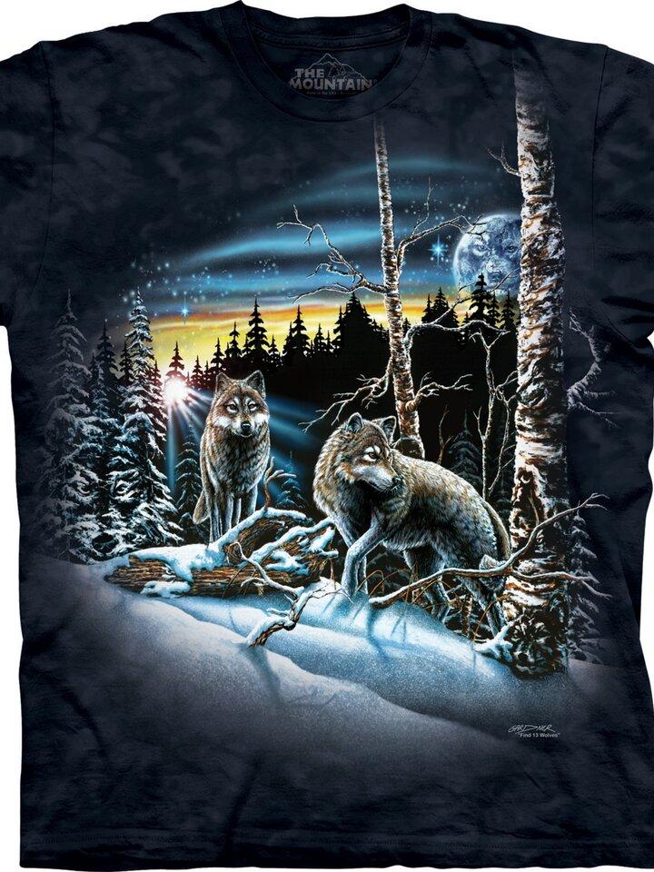 Geschenktipp T-Shirt Finde 13 Wölfe