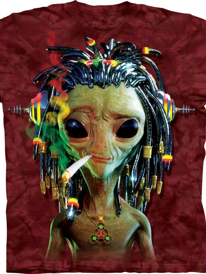 Pre dokonalý a originálny outfit Jammin' Alien Adult