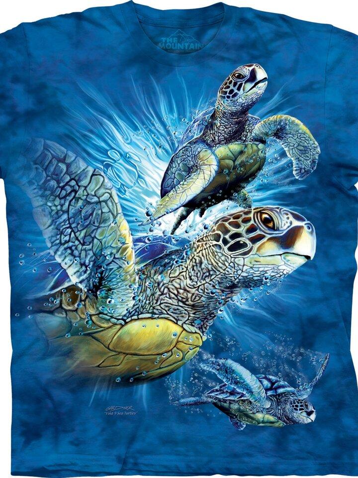Căutați cadou unic și original? Va bucura enorm sărbătoritul Find 9 Sea Turtles Adult