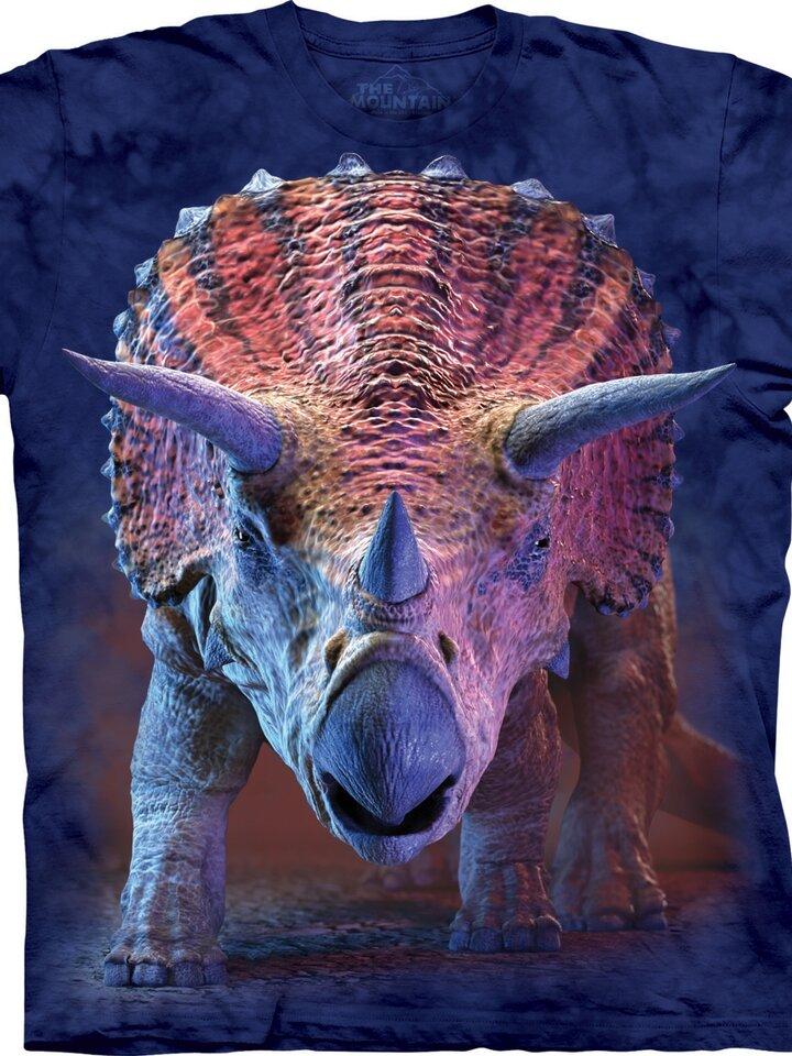 Szerezzen magának örömet ezzel a Dedoles darabbal Triceratops póló