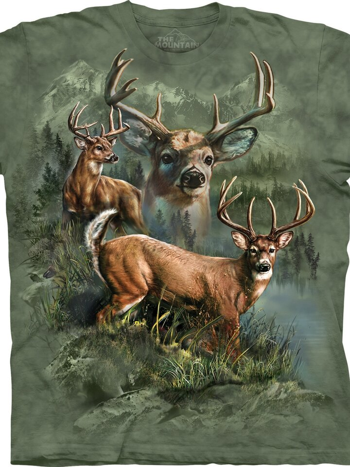 Zľava Tričko Koláž z jeleňov
