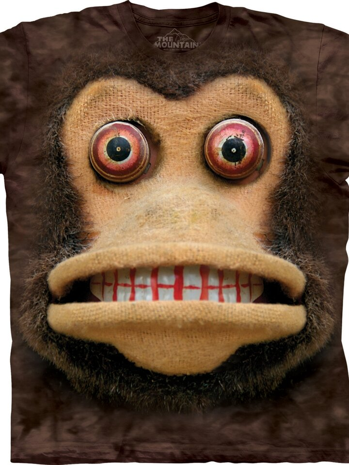 Suchen Sie ein originelles und außergewöhliches Geschenk? überrascht den Beschenkten sicher T-Shirt Gesicht Zymbal Affe