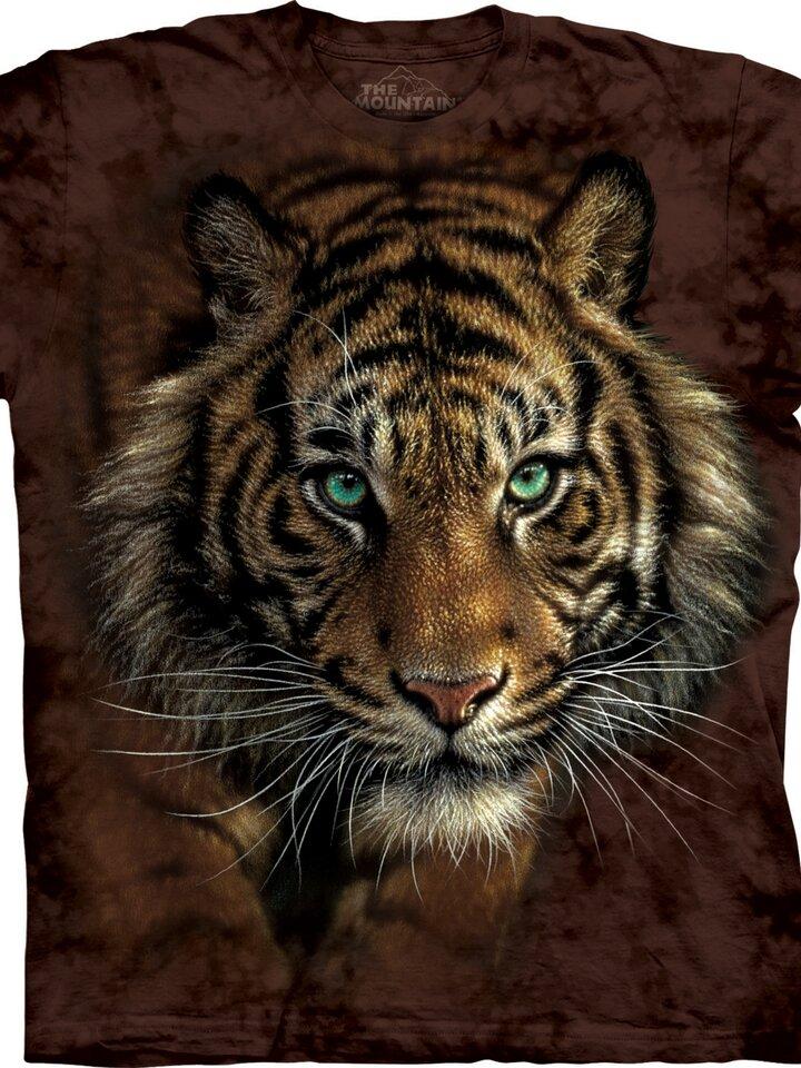 Kedvezmény Vadászó tigris póló