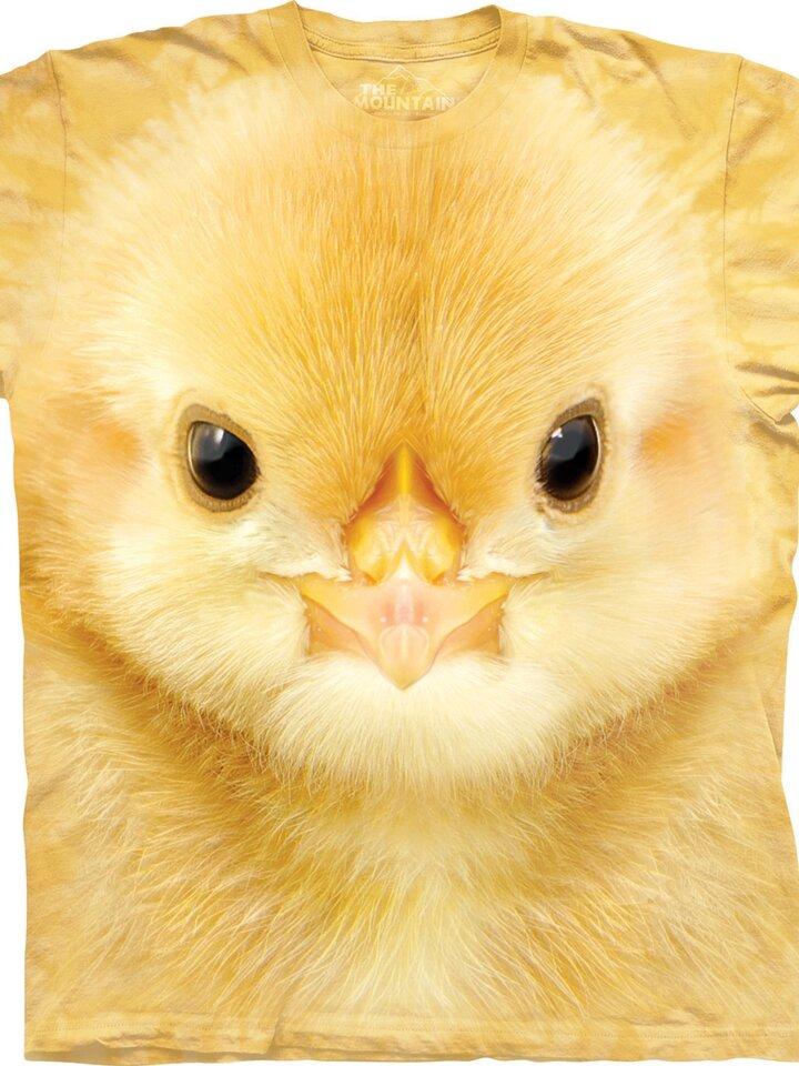 Geschenk von Dedoles T-Shirt Gesicht Hühnchen