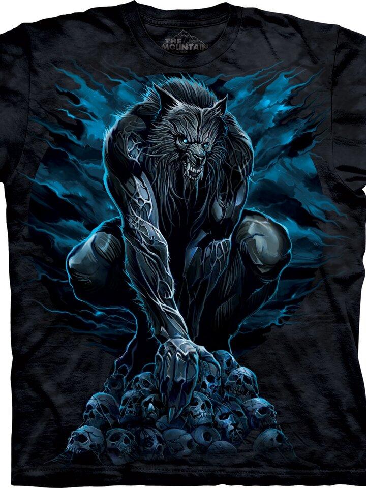 Lifestyle fotó Félelmetes farkasember póló