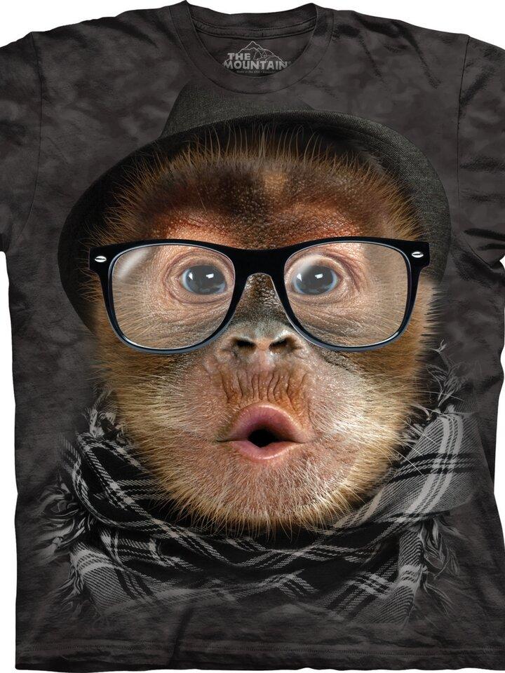 Kedvezmény Hipszter orangután póló