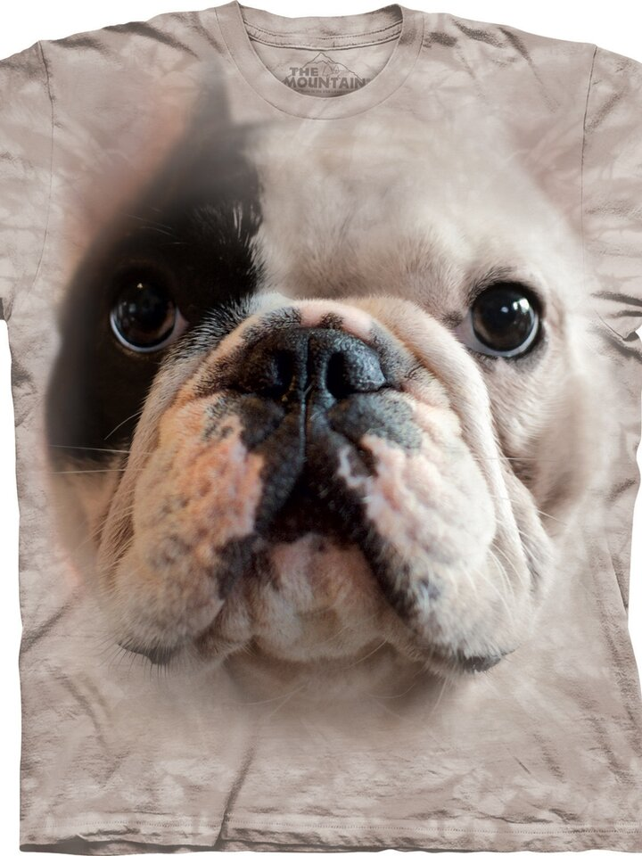 Ausverkauf T-Shirt Gesicht Bulldogge Manny