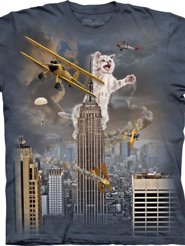 Výpredaj T-shirt Cats' King Kong