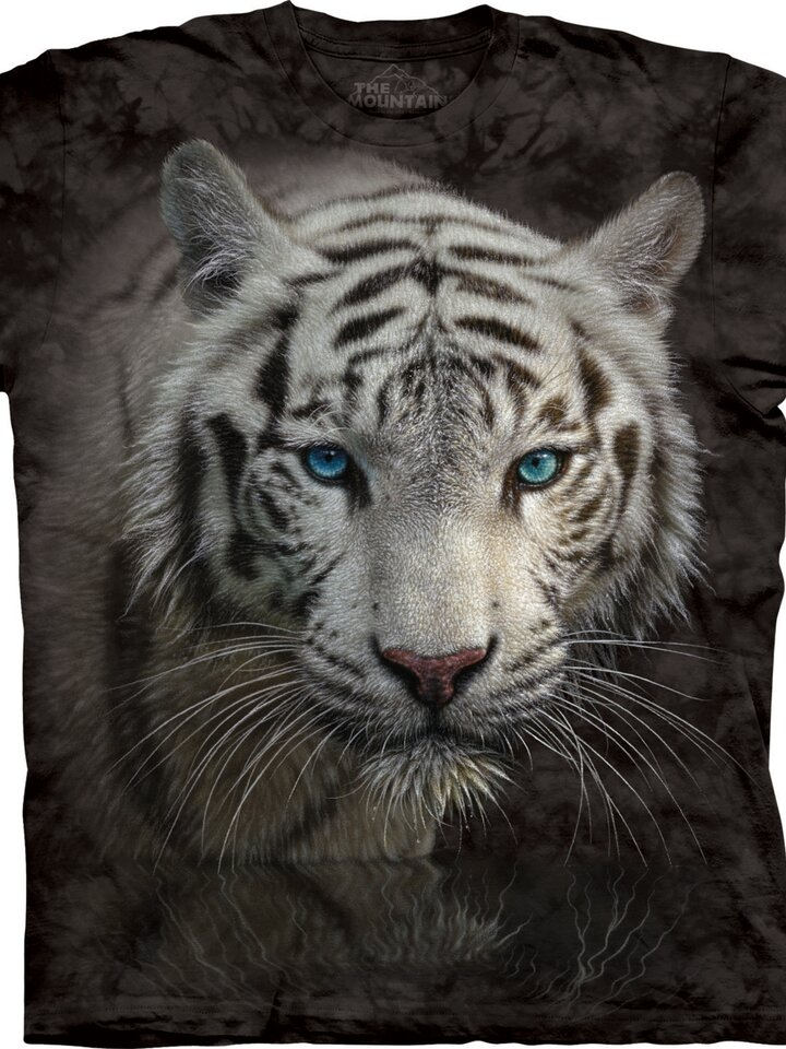 Original gift White Tiger Reflection