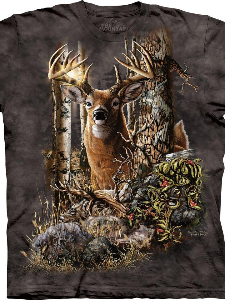 für ein vollkommenes und originelles Outfit T-Shirt Finde 9 Hirsche