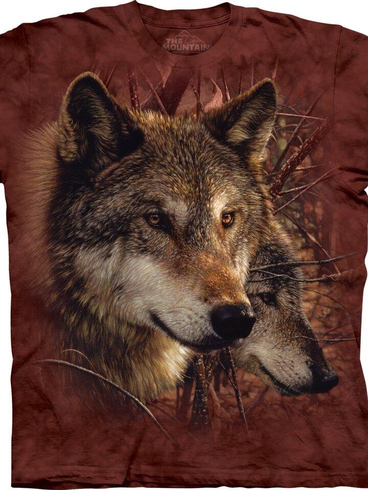 Tip na dárek Tričko Lesní vlci