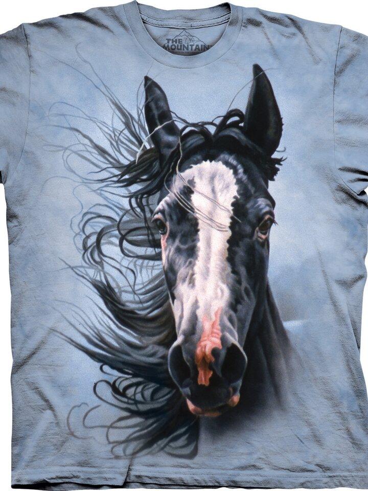 Szerezzen magának örömet ezzel a Dedoles darabbal Ló a viharban póló