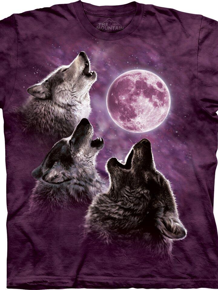 Výpredaj 3 Wolf Moon Purple