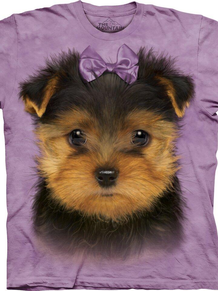 Foto T-Shirt Yorkshire Terrier Welpe