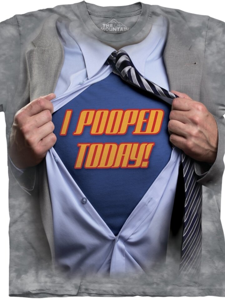Looking for an original and unusual gift? The gifted person will surely surprise with Super Pooper Adult