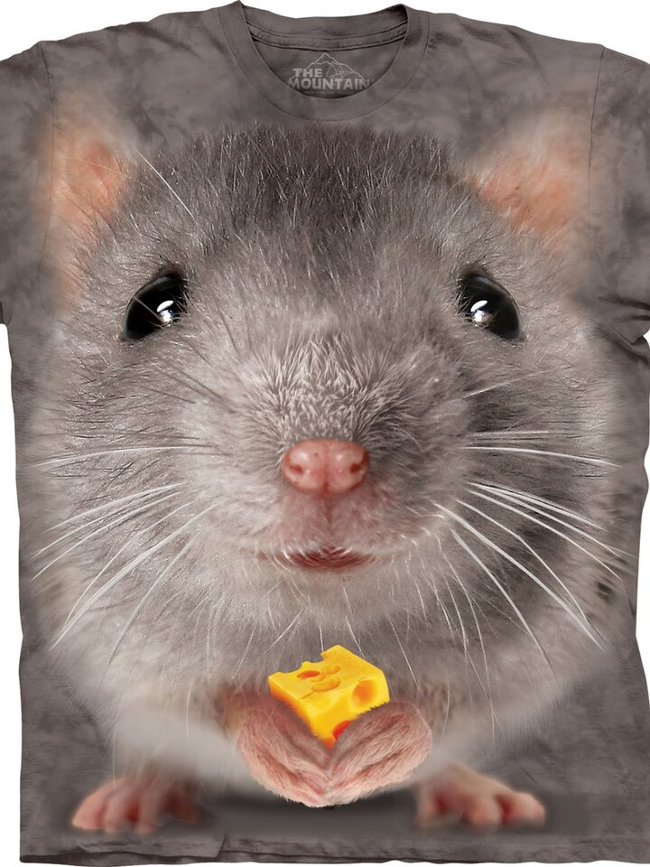 Potešte sa týmto kúskom Dedoles Big Face Grey Mouse