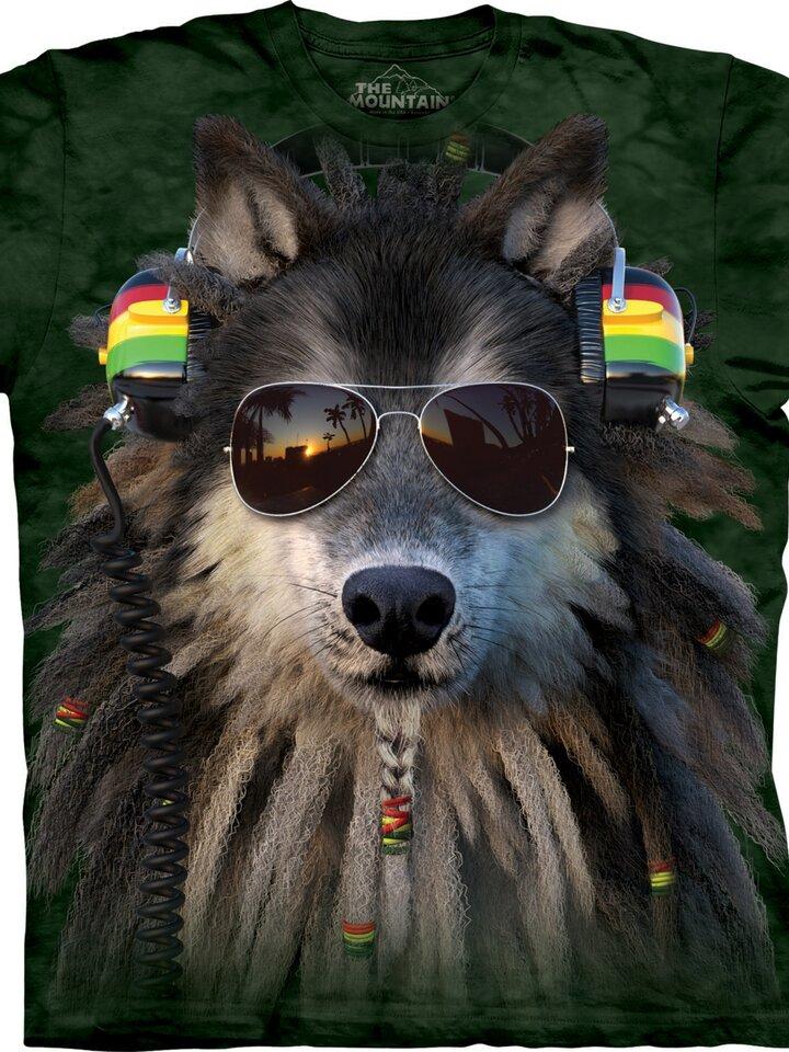 Geschenktipp T-Shirt Rasta Wolf