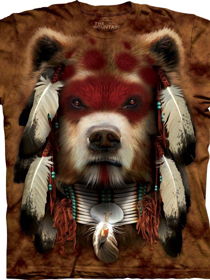 Foto Tričko Medvědí bojovník