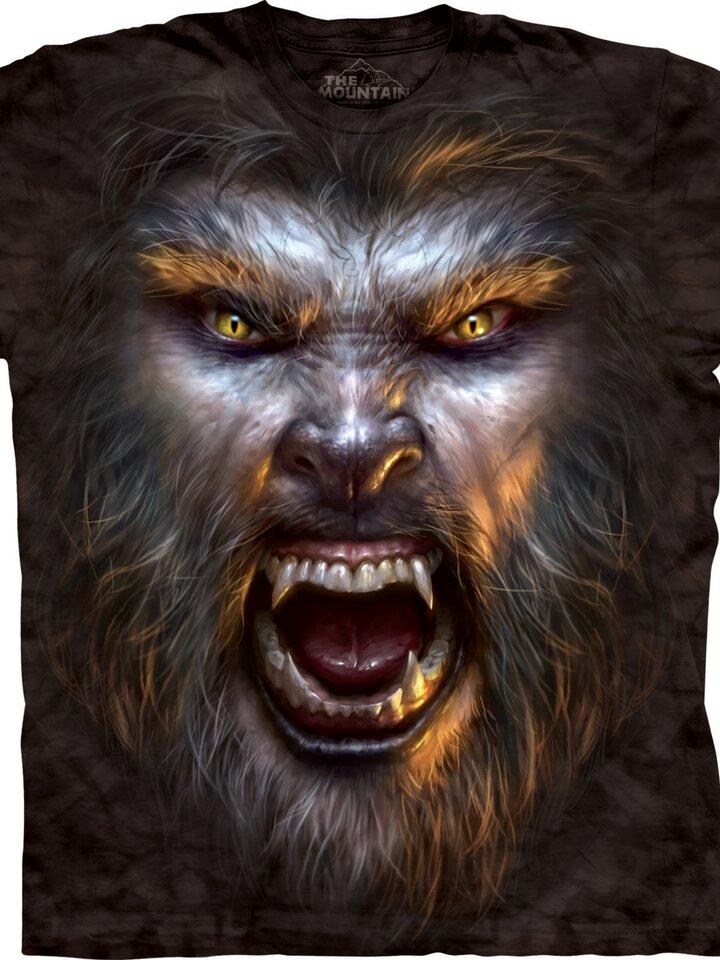 Kedvezmény Vérfarkas arc póló