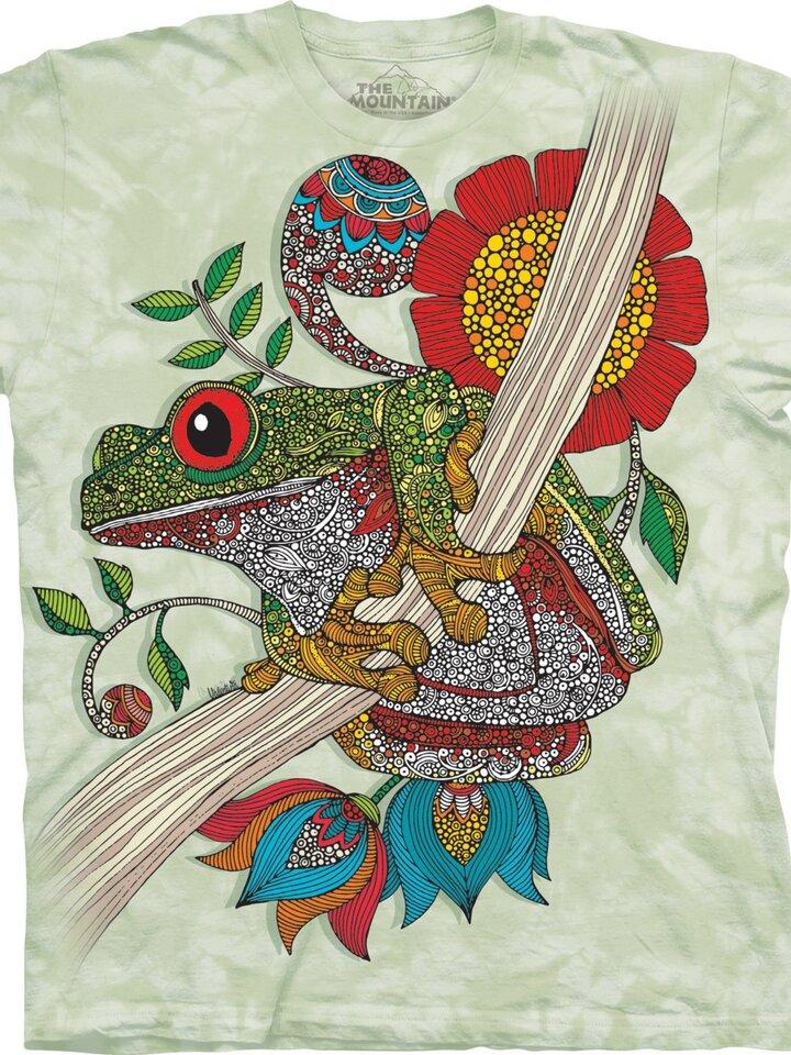 Suchen Sie ein originelles und außergewöhliches Geschenk? überrascht den Beschenkten sicher T-Shirt Phileus Frosch