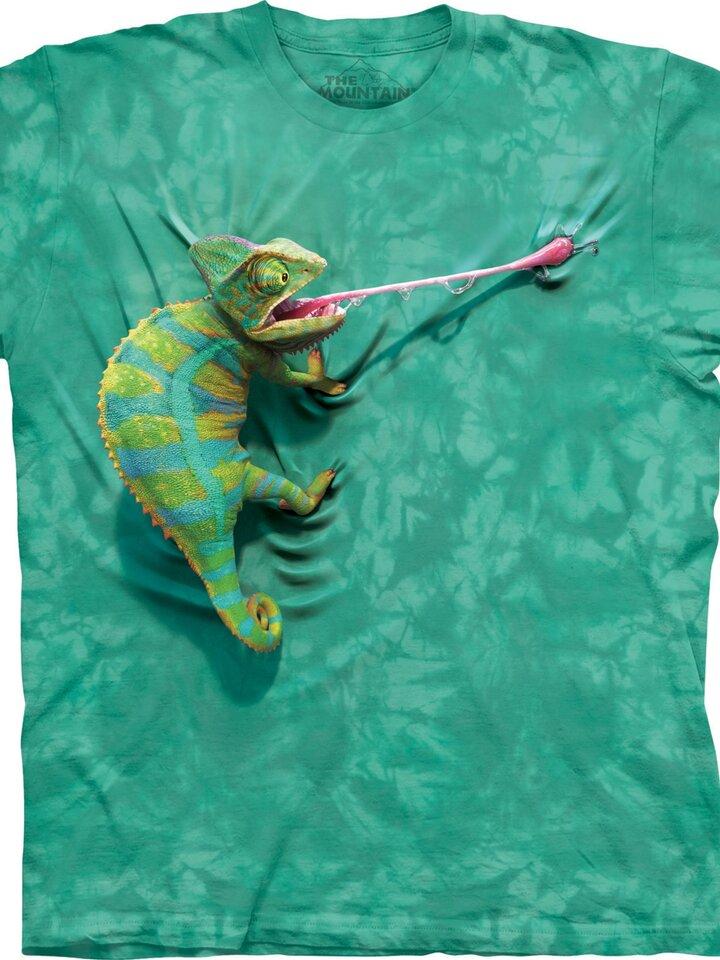 Potešte sa týmto kúskom Dedoles Tričko Chameleón
