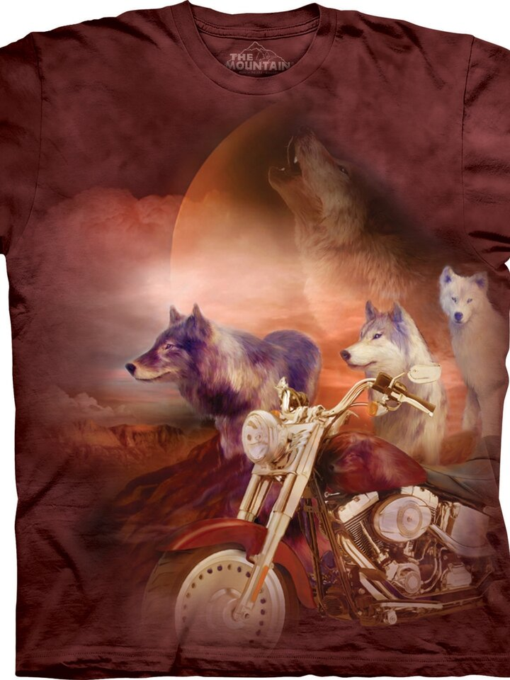 Výpredaj Tričko Vlčí motorkári