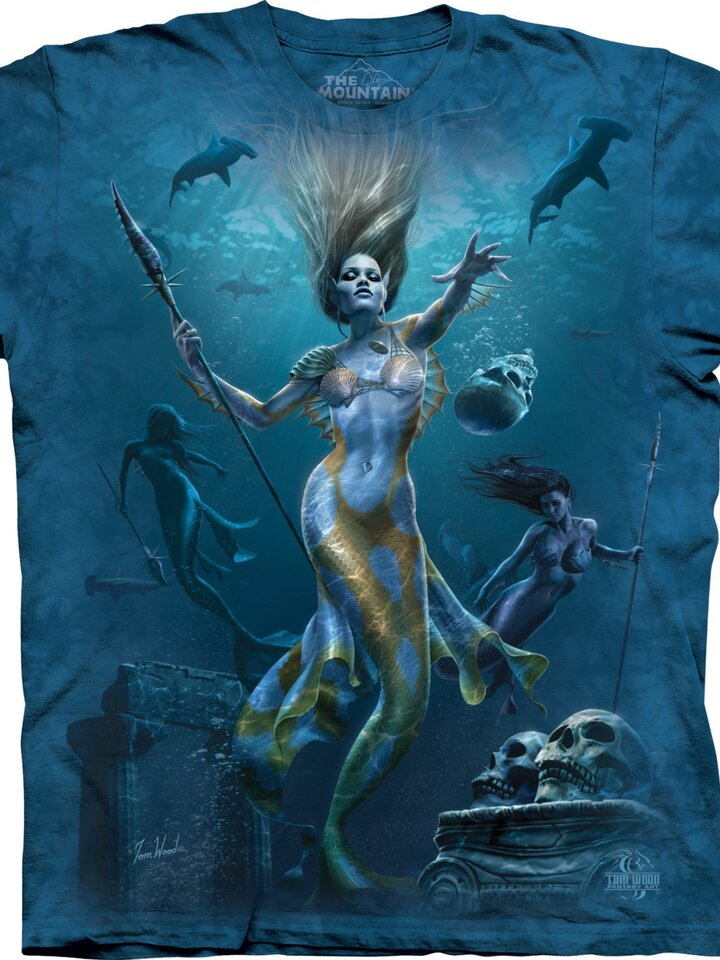 Reducerea Tricou Mermaid Hunt