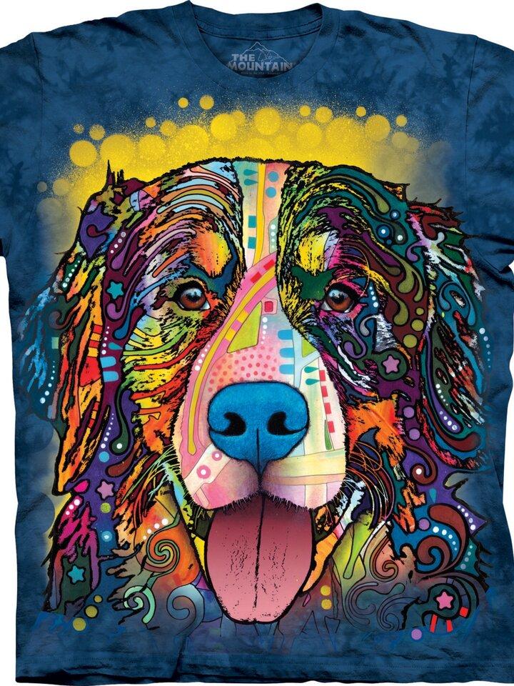 Bereiten Sie sich Freude mit diesem Dedoles-Stück Berner Sennenhund Russo-shirt