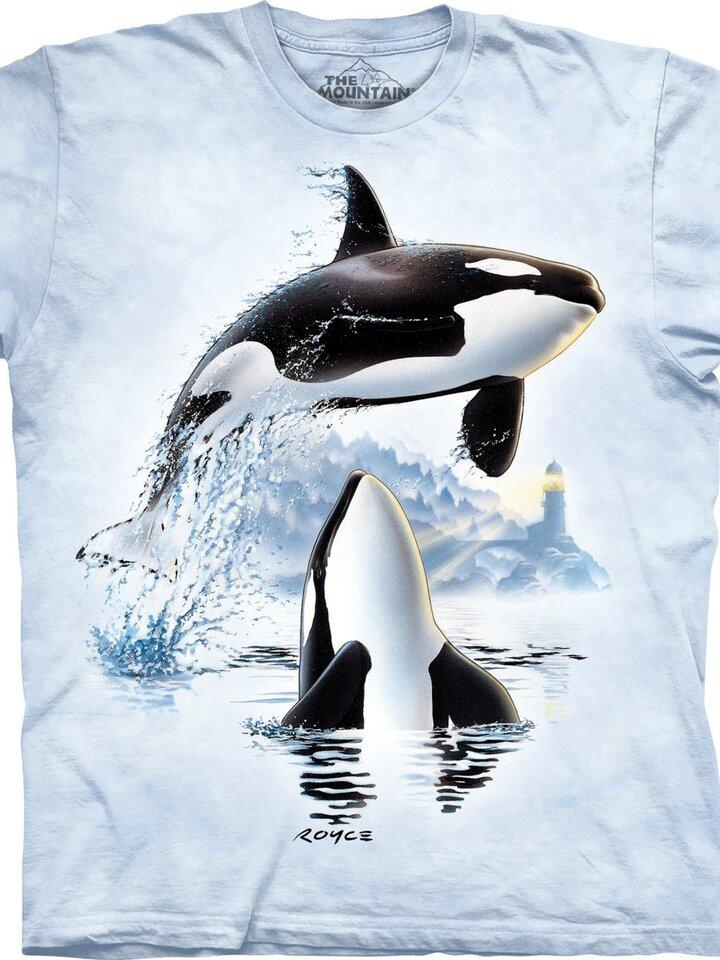 Geschenk von Dedoles T-Shirt Schwertwale