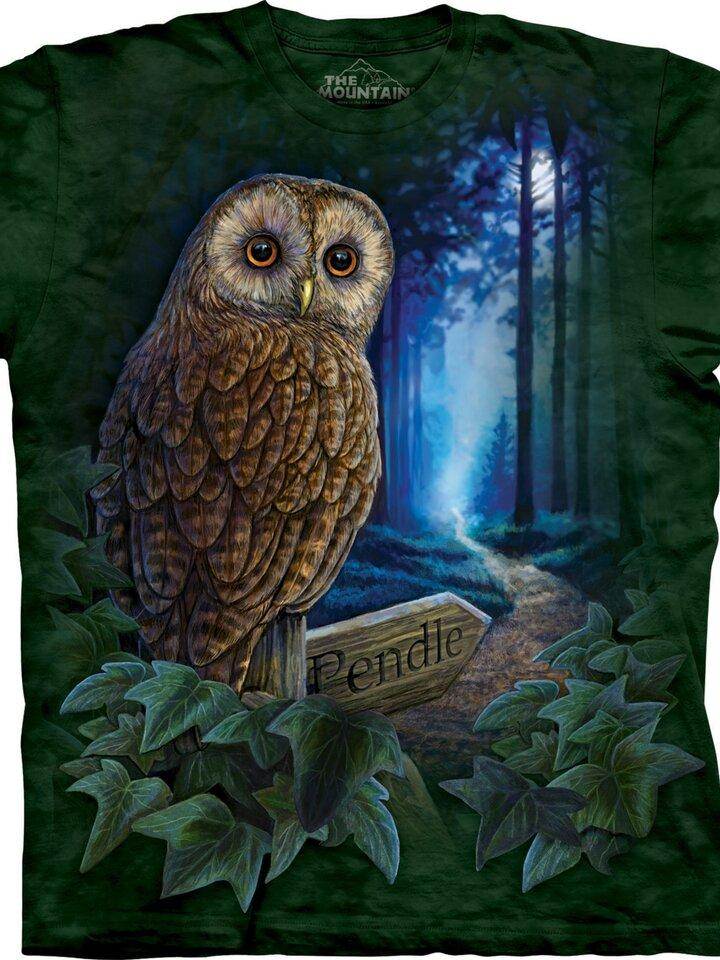 Szerezzen magának örömet ezzel a Dedoles darabbal Bagoly az erdőben póló