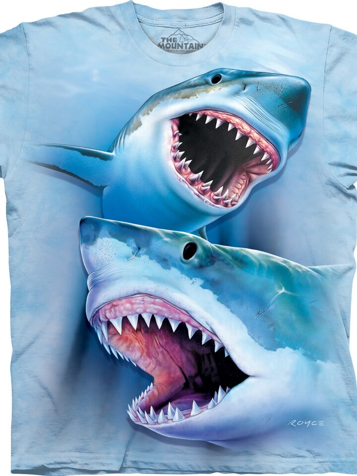 Rabatt T-Shirt Grosse Weisse Haie