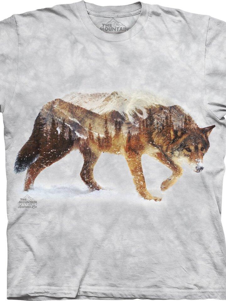 Lifestyle-Foto T-Shirt Waldwolf