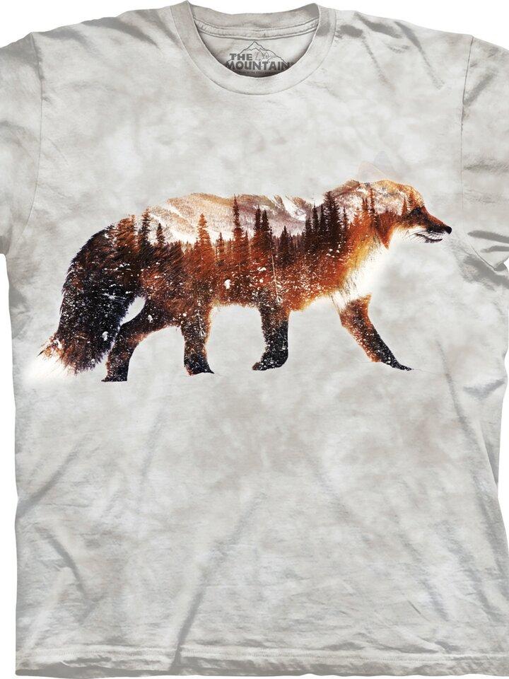 Bereiten Sie sich Freude mit diesem Dedoles-Stück T-Shirt Verschneiter Fuchs