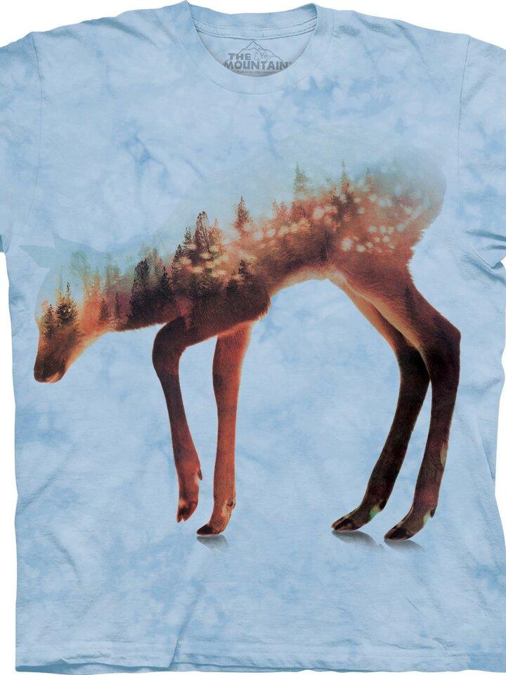 Potěšte se tímto kouskem Dedoles Tričko Lesní srnka