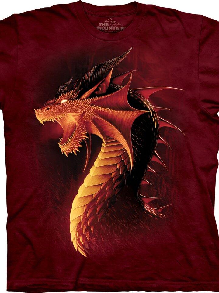 Geschenktipp T-Shirt Roter Drache