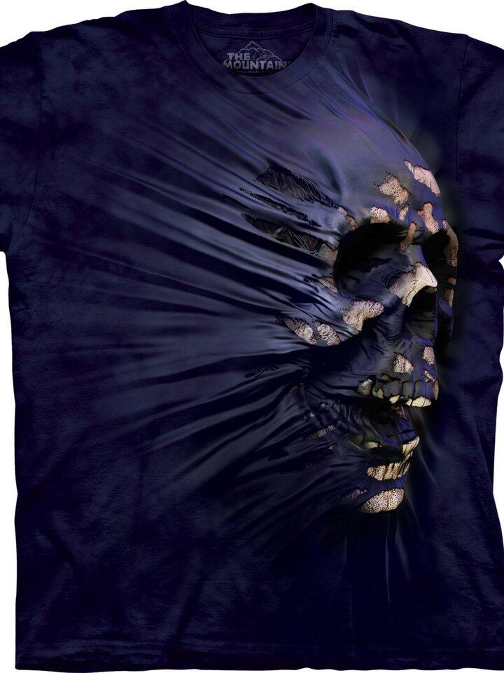 a tökéletes és egyedi ruházathoz Lila halálfej póló