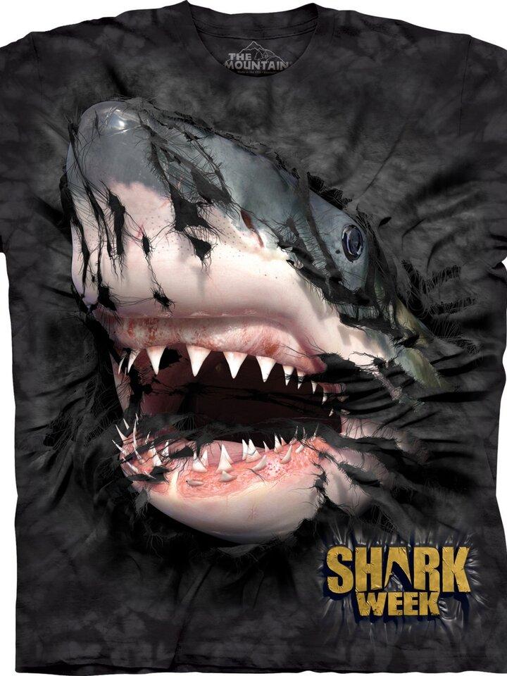 Reducerea Shark Week Breakthru T Shirt