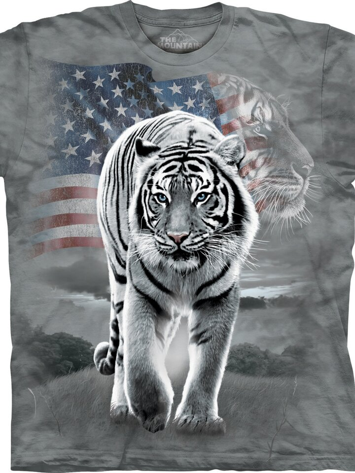 Potěšte se tímto kouskem Dedoles Tričko Patriotský tygr