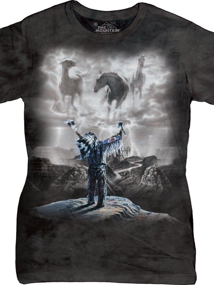 Foto Dámske tričko Vyvolávanie búrky