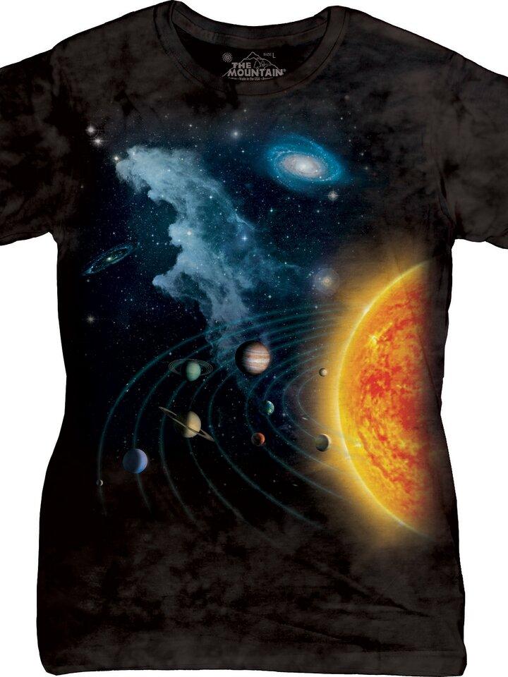 Potěšte se tímto kouskem Dedoles Solar System Space T Shirt