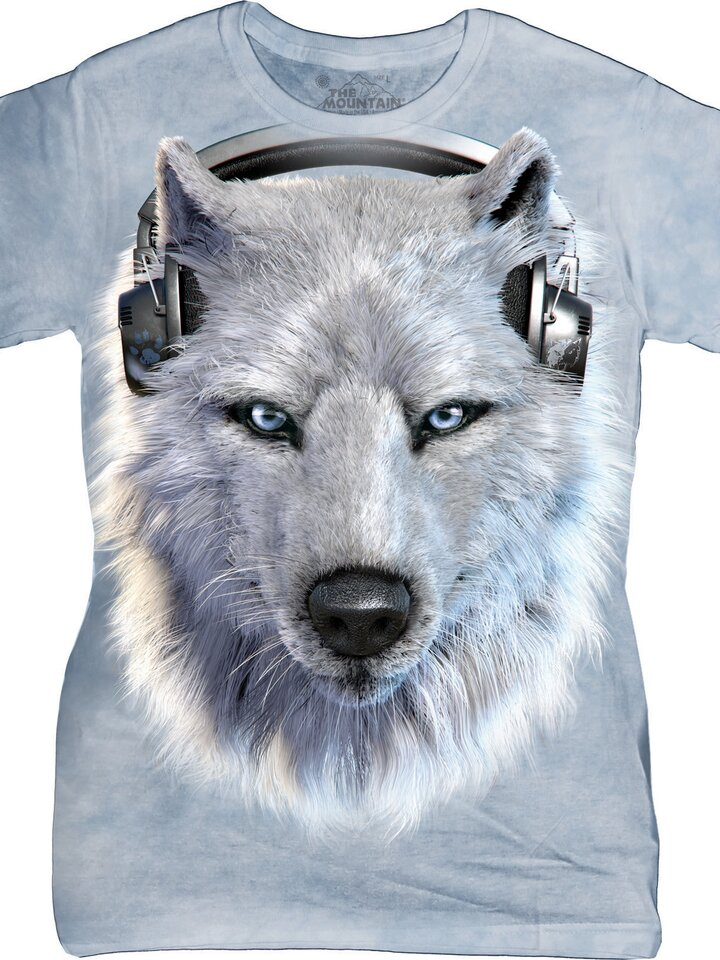 Looking for an original and unusual gift? The gifted person will surely surprise with White Wolf DJ