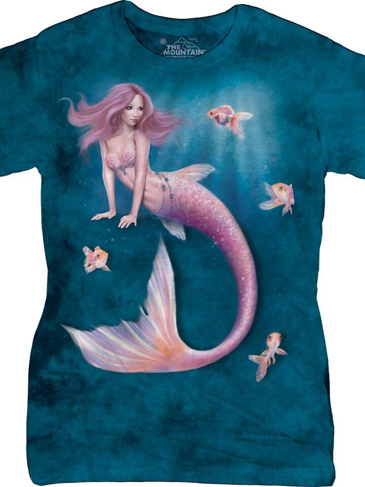 Potešte sa týmto kúskom Dedoles Dámske tričko Fantasy Morská panna