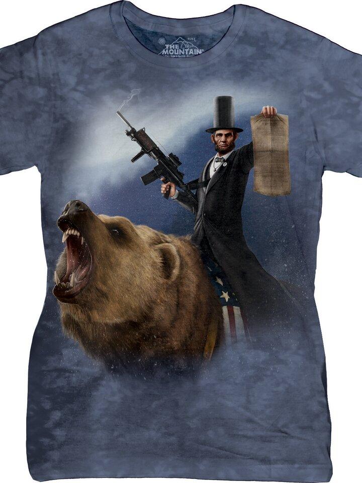 Faceți-vă o bucurie cu acest produs Dedoles Lincoln Emancipator T Shirt