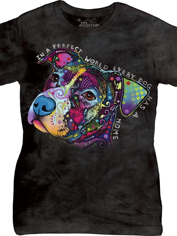 Pre dokonalý a originálny outfit Dámske tričko Perfect World by Russo