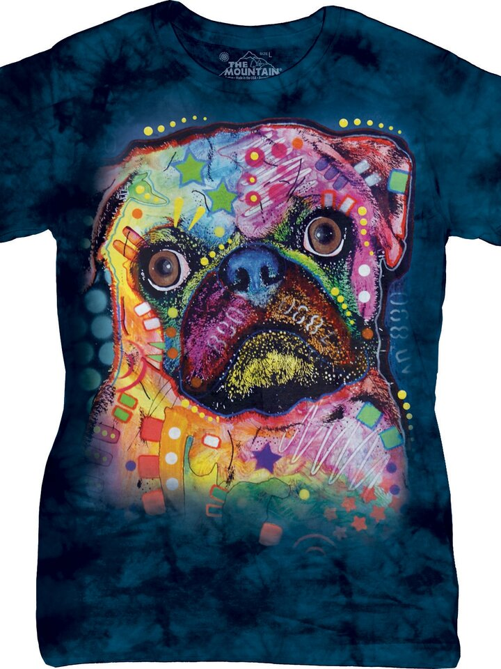 Pomysły na prezenty Russo Pug Dean Russo T Shirt